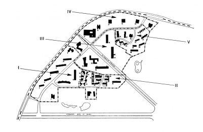 Fünf Bereiche werden von insgesamt 10 Landschaftsarchitekten geplant