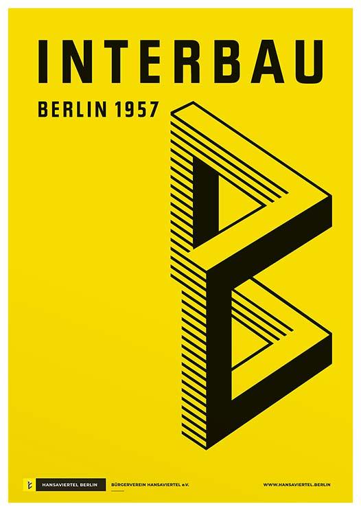 Karl-Marx-Allee und Interbau 1957